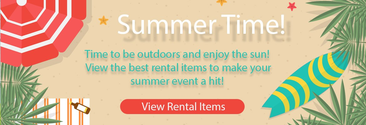 June's Best Event Rental Items