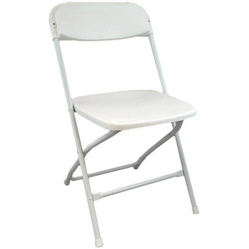 White Folding Chairs For Rent