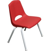 red kids chair